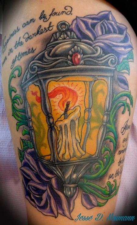 Tattoos - Lantern Tattoo - 91669