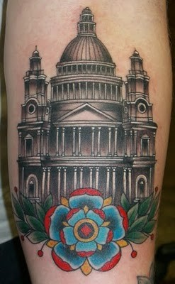 St Pauls Tattoo Design