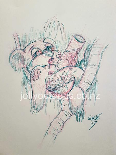 Tattoos - Australian Koala Tattoo Design - 125419