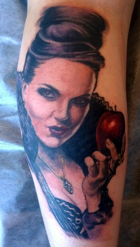 Tattoos - Regina Evil Queen Once Upon a Time Tattoo - 114379