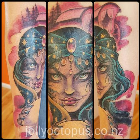 Tattoos - The Danger in Her Gypsy Eyes - 125751
