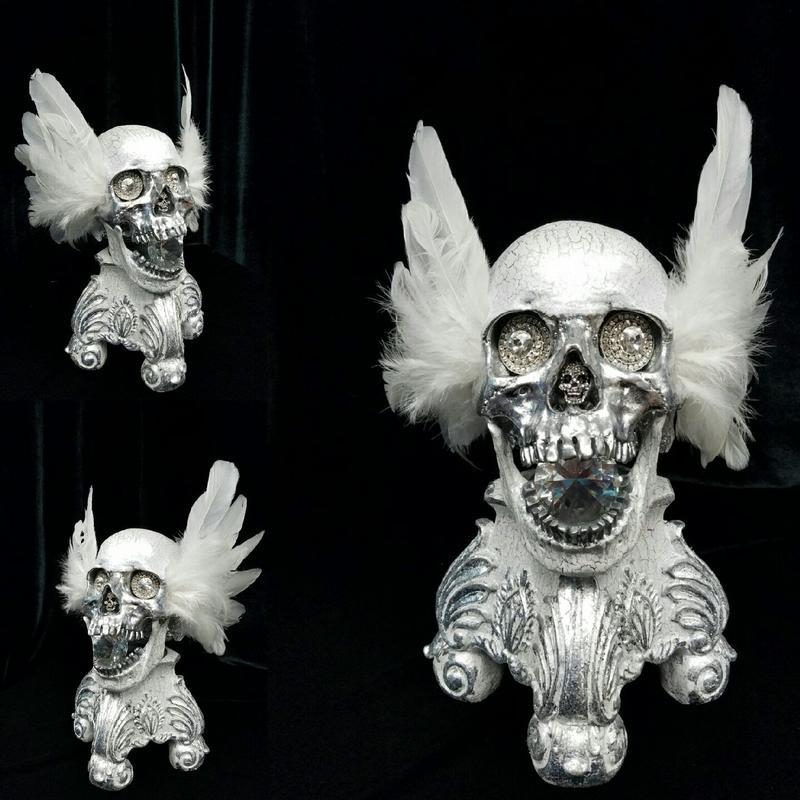 Darc Clements - Angelic Skull