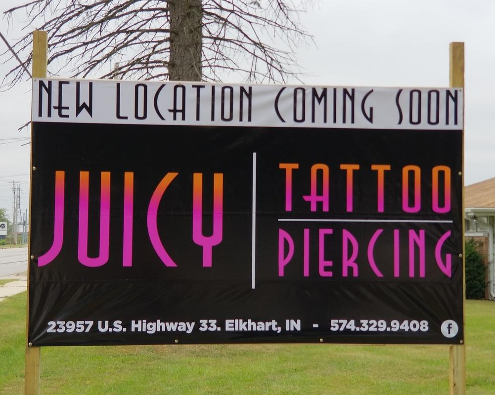 - New Juicy Tattoo Location