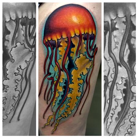 Tattoos - Jelly fish walk up from Toronto show - 117771