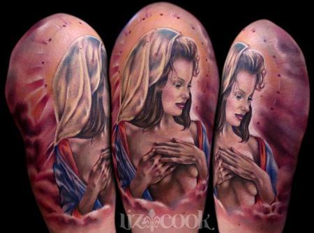 Tattoos - Sexy Virgin Mary - 65774