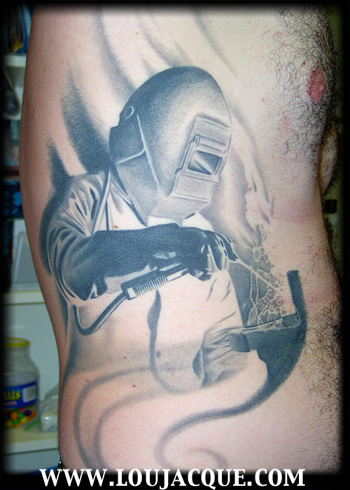 Welding Welder Tattoos