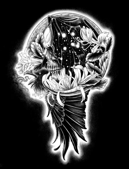 Tattoos - Odin's Raven - 94341