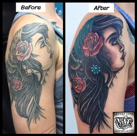 Tattoos - Reworked Gypsy Girl - 109543