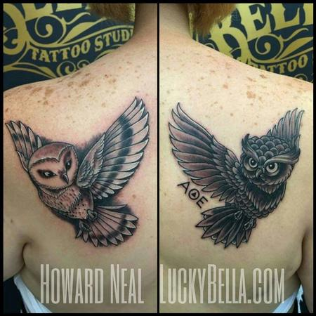 Tattoos - Owls - 109553