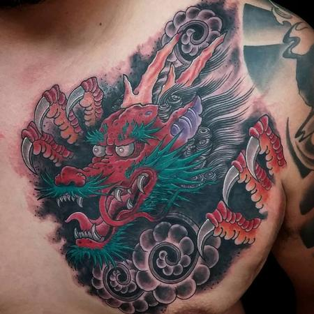 Tattoos - Asian Dragon - 109552