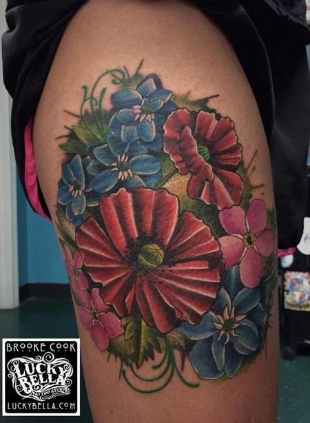 Tattoos - Flowers - 109530