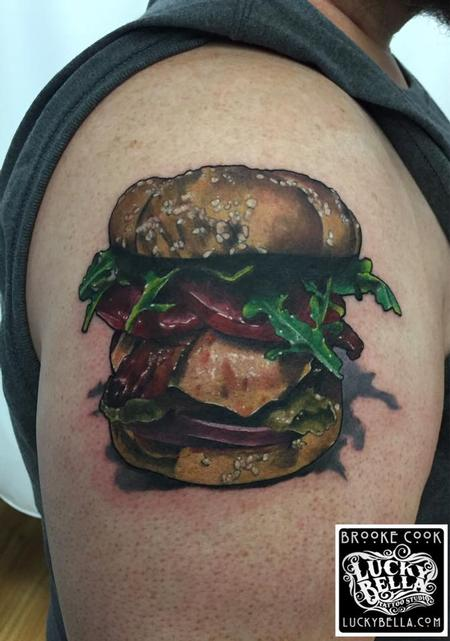 Tattoos - Cheeseburger  - 119019