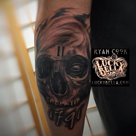 Tattoos - 2nd Amendment Skull - 119023