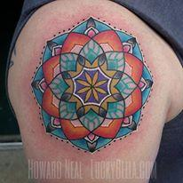 Tattoos - Mandala - 119026