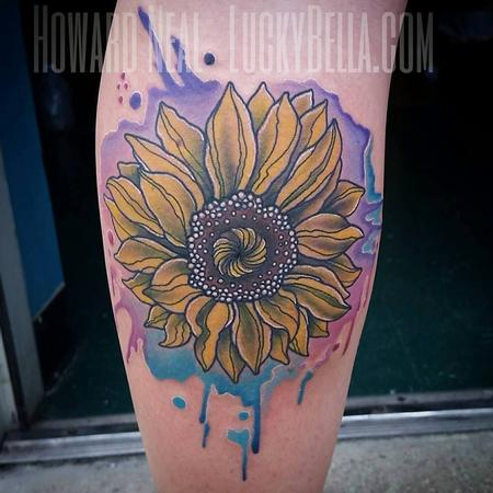 Tattoos - Sunflower - 120255
