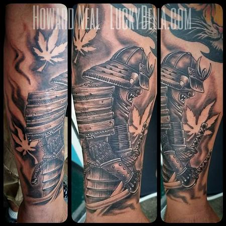 Tattoos - Samurai - 120257