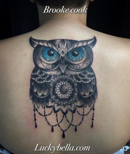 Tattoos - Owl - 120251