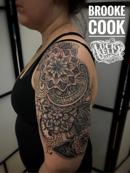 Tattoos - mandala half sleeve - 130499