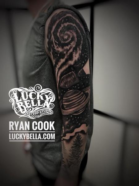 Ryan Cook - Space Sleeve