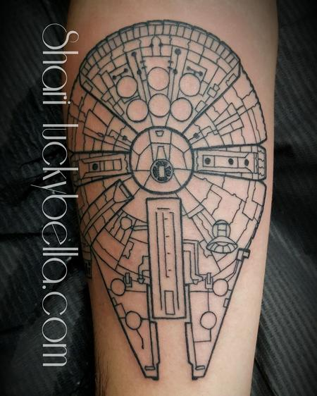 Tattoos - Millenium Falcon  - 137460