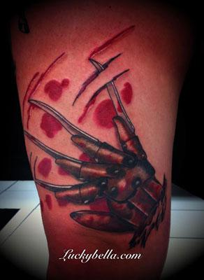 Tattoos - Freddy glove - 60986