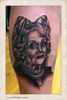 Tattoos - Betty White's a cougar - 60987