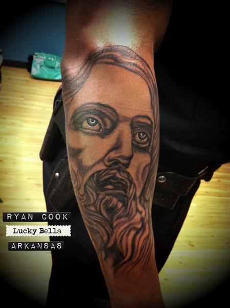 Tattoos - Jesus etc.  - 62213
