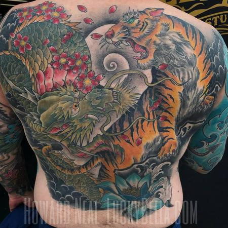 Full Asian Back Piece  Tattoo Design Thumbnail