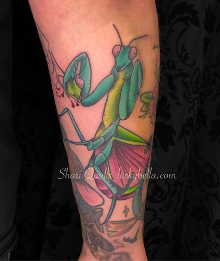 Tattoos - Praying Mantis - 137608