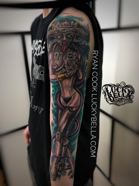 Tattoos - Otep Sleeve  - 137562