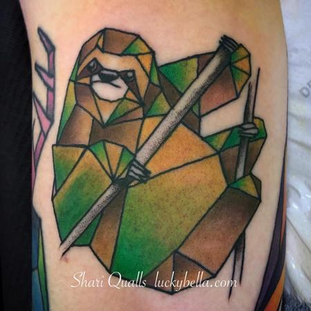 Shari Qualls - Geometric Sloth
