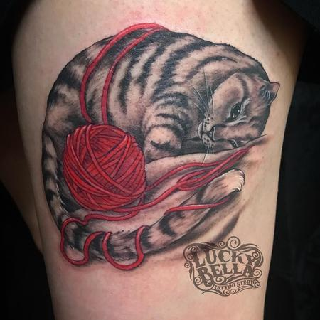 Tattoos - Sleepy Kitty - 137893