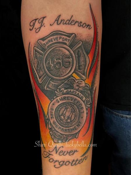 Tattoos - Firefighter's Tribute  - 138269