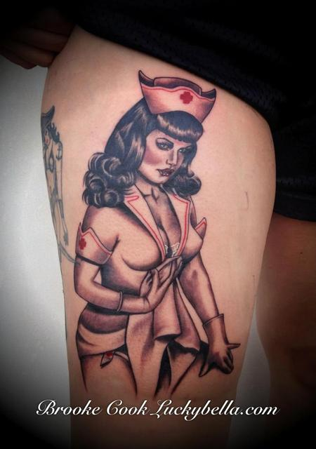 Tattoos - Nurse Bettie  - 86514