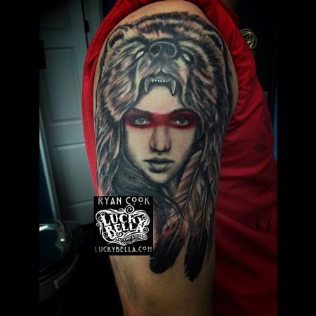 Tattoos - Bear Woman - 113577