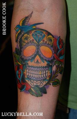 Tattoos - sugar skull - 54567
