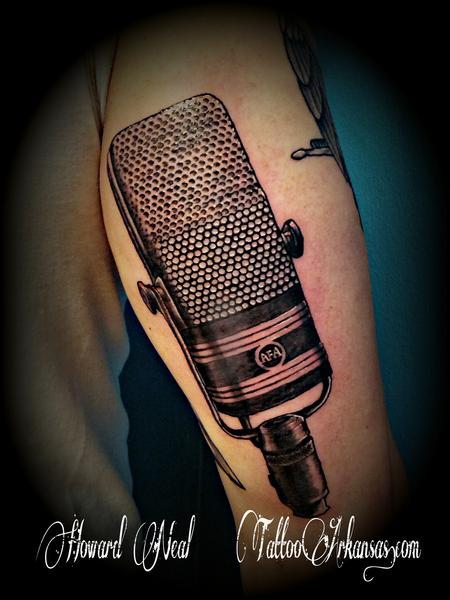 Tattoos - Ribbon Mic - 87509