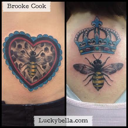 Tattoos - bees - 91746