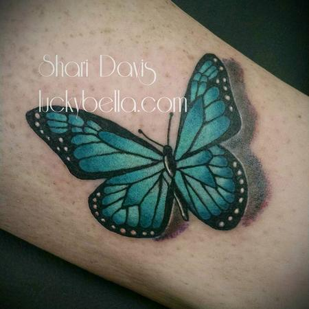 Tattoos - 3D butterfly - 115914