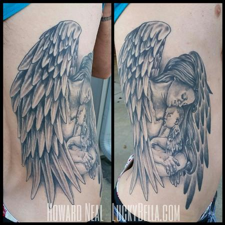 Tattoos - Angel and Child - 101569