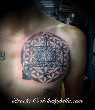 Tattoos - sacred geometry - 89195
