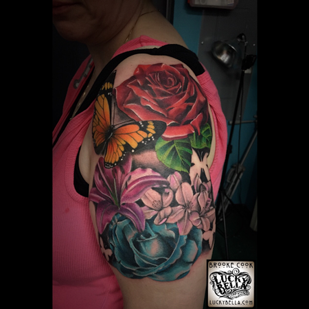Tattoos - flowers - 102518