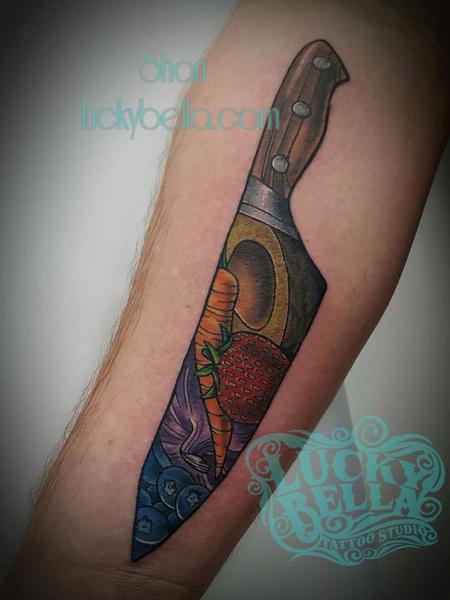 Tattoos - Chef knife - 127050