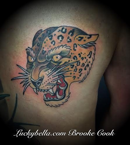 Tattoos - leopard - 98345
