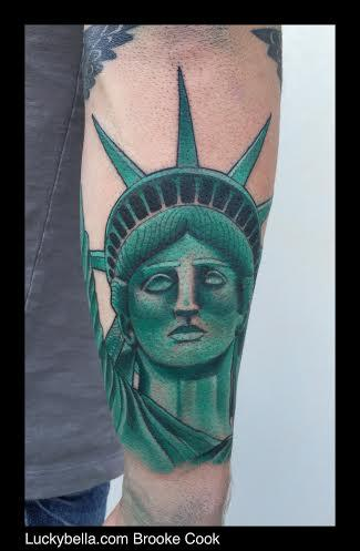 Tattoos - statue of liberty - 98337