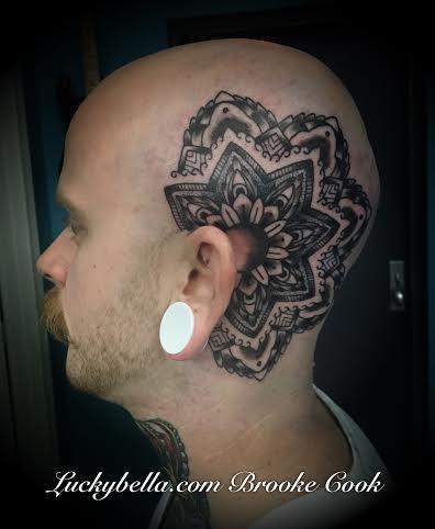 Tattoos - head tattoo - 101002