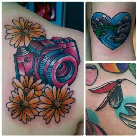 Shari Qualls - tattoos