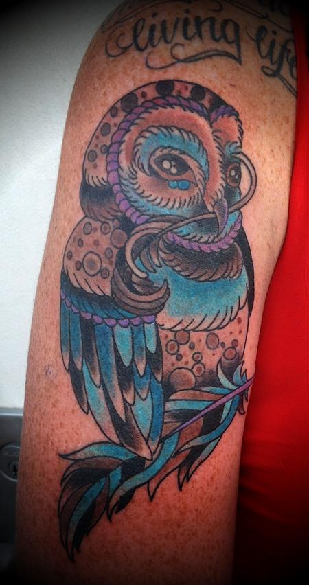 Tattoos - owl - 67853