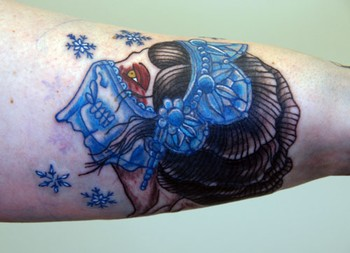 Tattoos - snow gypsy - 42926