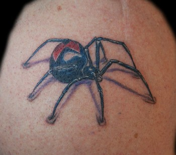 Tattoos - black widow - 38131